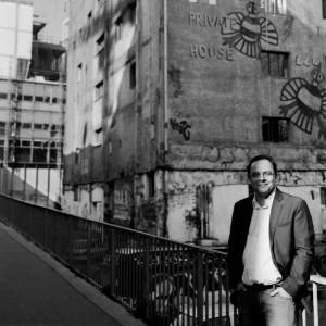 Marc Bruhat, consultant patrimoine culturel des entreprises, 2010 © ENSLL, avec R. Bassenne