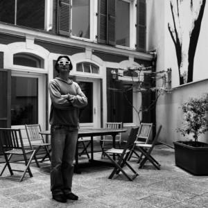 Pascal Despin, graphiste 3D chez Eyedream, 2010 © ENSLL, avec R. Bassenne