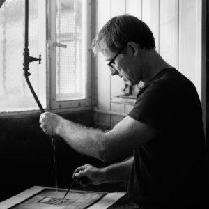 Jean-François Fresson, tireur, 2010 © ENSLL, avec R. Bassenne