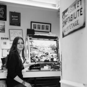 Isobel Graziani, photographe, musée Albert Kahn, 2010 © ENSLL, avec R. Bassenne