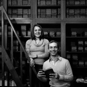 Isabelle Péretti et Serge Fouchard, documentalistes, musée Albert Kahn, 2010 © ENSLL, avec R. Bassenne