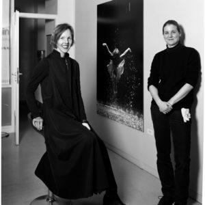 Donata Wenders, photographe, et Doreen Jarmatz, tireuse