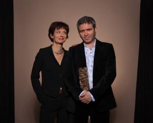 Stéphane Brizé et Florence Vignon © AATC & ENSLL, A. Blanchard, L. Delafontaine et N. Martin-Beaumont