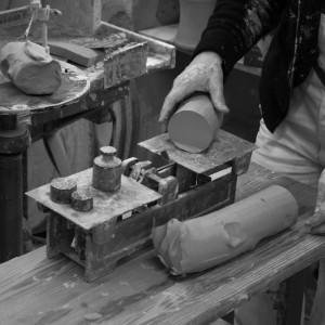 Einblick auf das Handwerk - Handwerk im Herzen von Regensburg - Keramik-Werkstatt Küffer