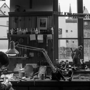 Einblick auf das Handwerk - Handwerk im Herzen von Regensburg - Geigenbau Goldfuss
